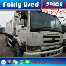 Right Hand drive used Nissan tipper truck of Nissan UD 6x4 truck