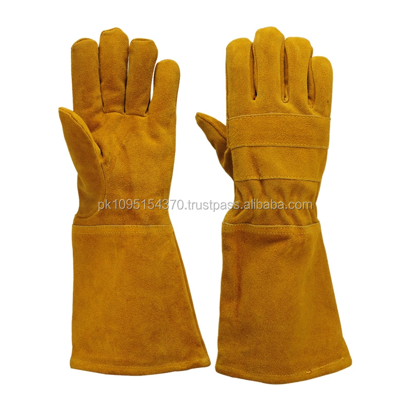 welding Gloves Made of Premium Cowhide Grain Leather welding gloves
