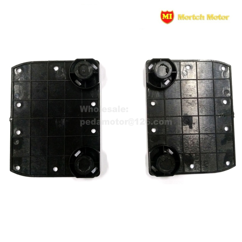 (PEDA 2017) Black plastic Pad Plate DIY Parts for Balance Scooter Hoverboard(Low cost/Discount)