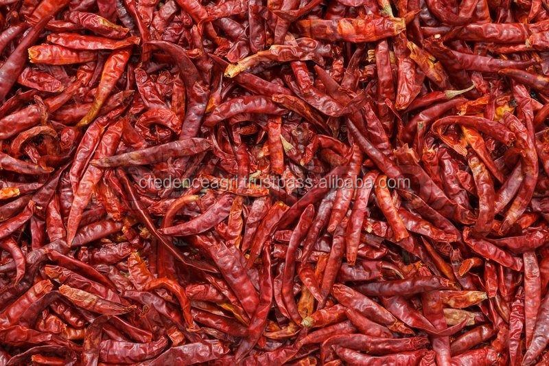 Easily Digestible Safe to Consume Indian Whole Red Chilli - S8 for Sale