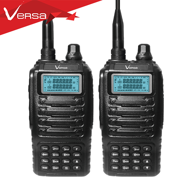 Multi Band Versa Command 5W Tri Band Walkie Talkie Radio