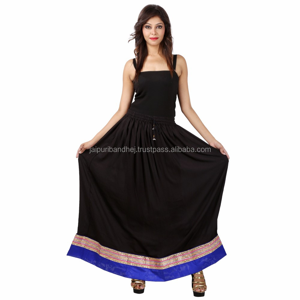 Rajasthani Hot Summer Ladies Border Skirt