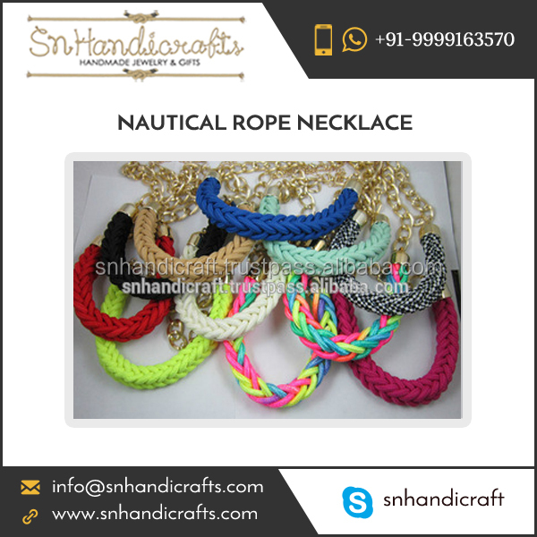Reputed Distributor Supplying A Grade Quality Silk Thread Tassel Necklaces