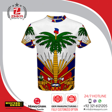 New Type t shirt for promotion Mini jersey Sublimation print jersey