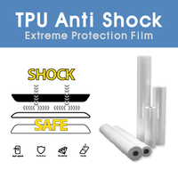 Anti Shock Protective Film, Screen Protector for iphone 5s, Roll Type