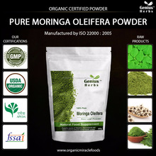 Miracle Moringa Leaf Powder As Health Supplements