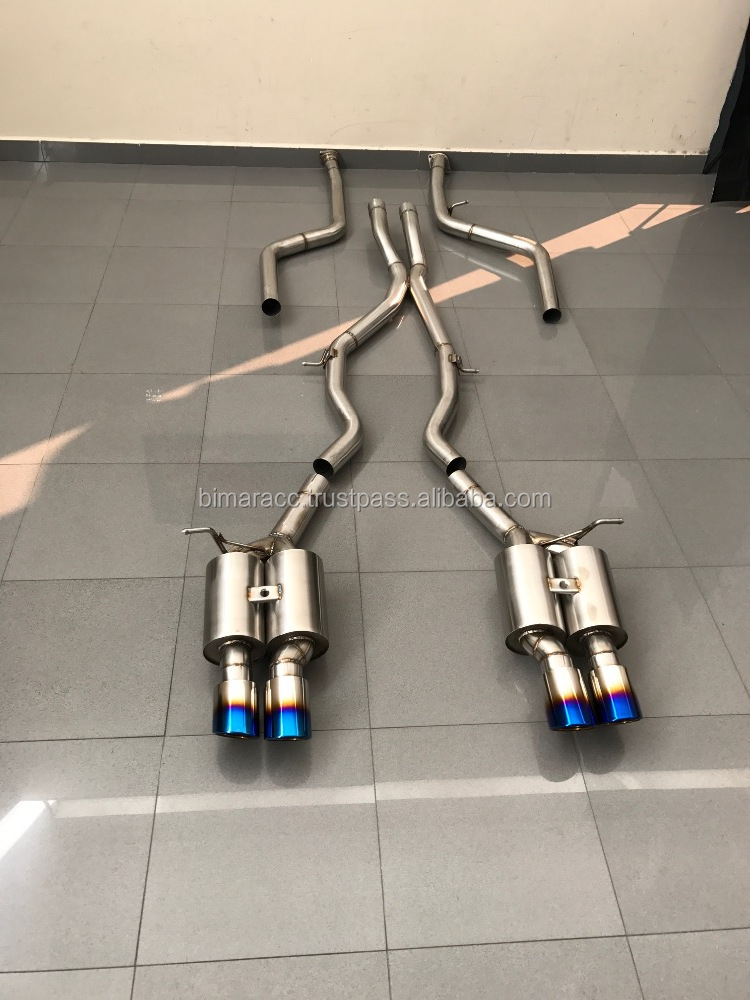 Exhaust for bmw F82 m4