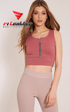 custom cheap women clothes ladies sexy striped crop tops wholesale china