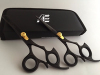 5.5'' Professional Hairdressing Barber Hair Cutting Thinning Razor Scissors set