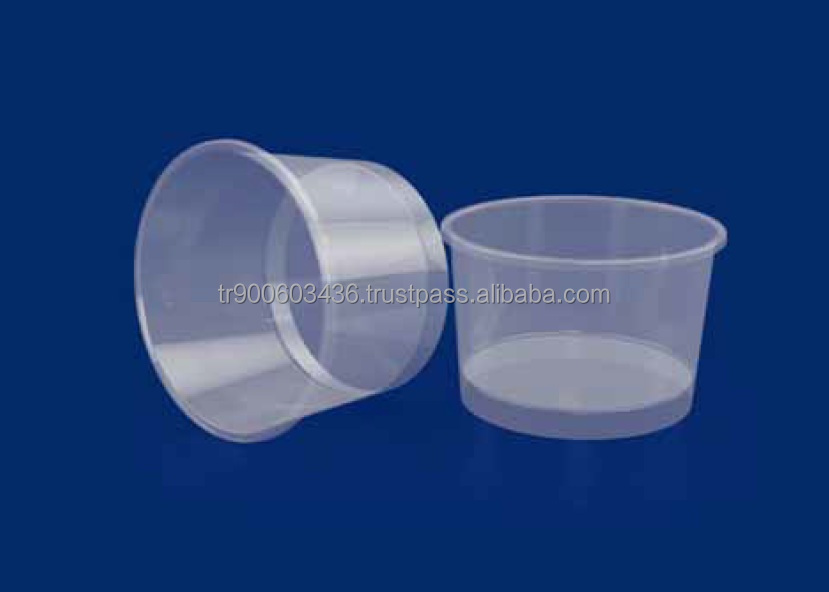 High Quality 200ml PP Plastic Round Cup packaging Food-Chemical-Promotion-Liquid Product Code 31020