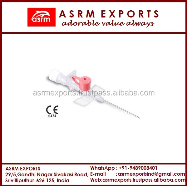 iv cannula/ iv catheter/ pen type/ sterile disposable