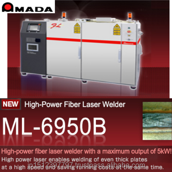 Highly accurate and Reliable laser welders for Malaysia Laser machine product with Accurate made in Japan