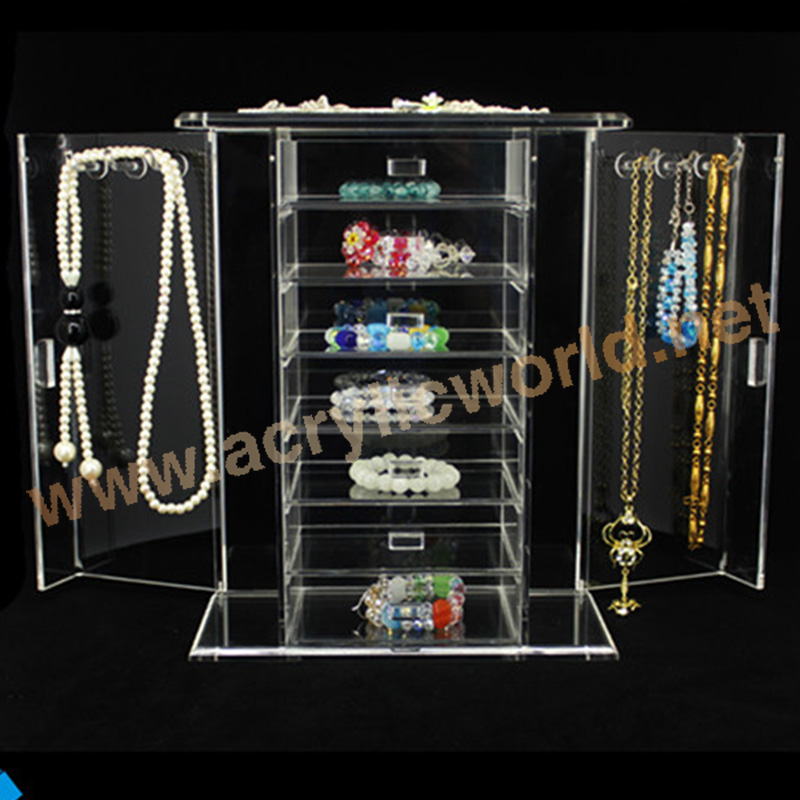 Jewelry Necklace Display Stand/Luxury Acrylic Jewelry Display Block/jewelry Showing Display