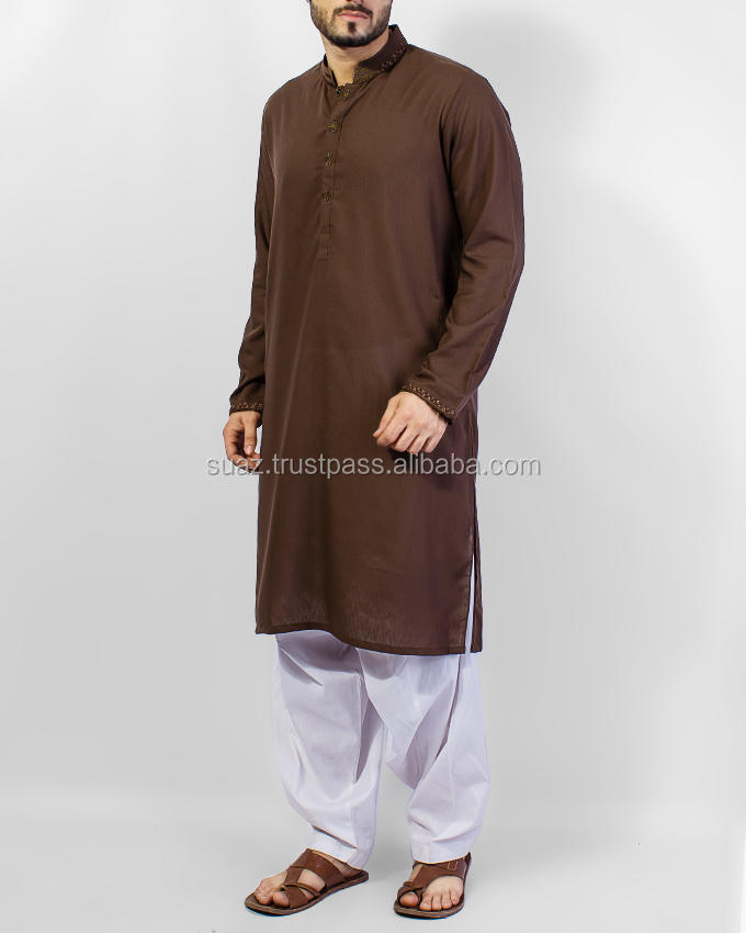 Wholesale Kurta Shalwar , Cotton Shalwar Kameez For Men , Men Eid Formal Embroidered Kurta Designs , Shalwar Kameez Collection