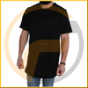 wholesale online shopping alibaba gray curve longline short sleeve men 3d t shirt