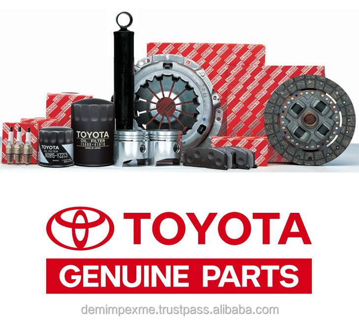 TOYOTA GENUINE SPARE PARTS and ACCESSORIES