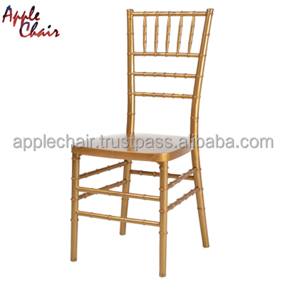 PP Resin Chiavari Insert steel Chair (Gold) : EVENT, BANQUET, PARTY, HOTEL