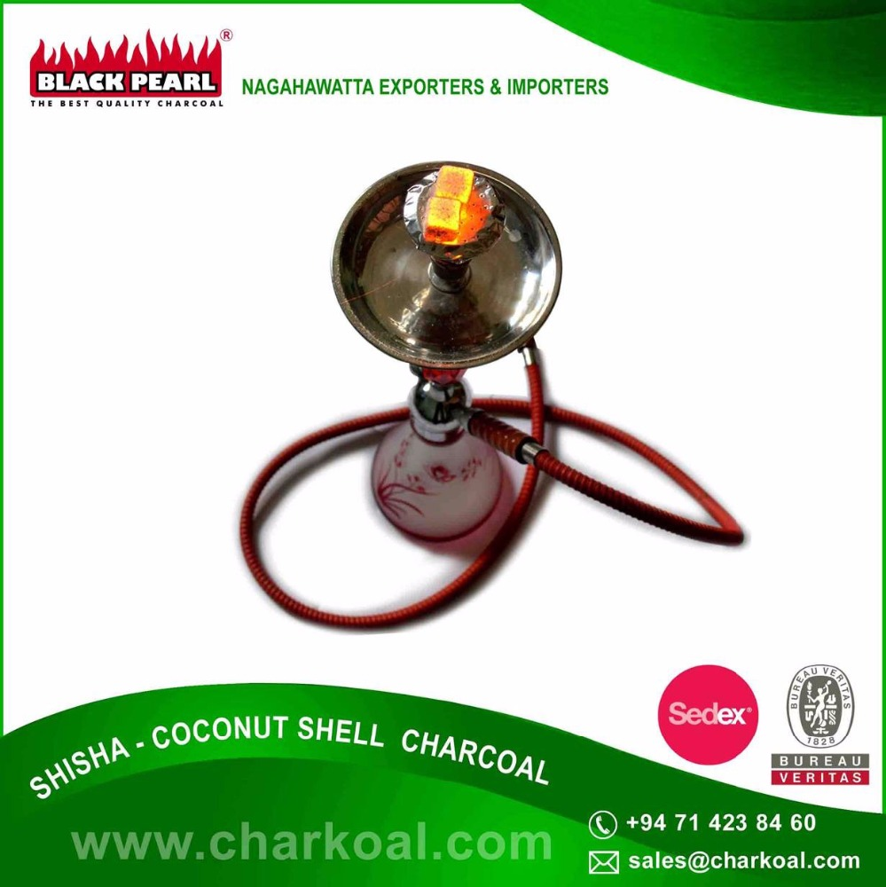 Environmental Friendly Coconut Shell Shisha Charcoal from Worldwide Supplier