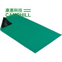 Antistatic Green Ground Mat/ ESD Production Rubber Mat/ Conductive Rubber Workbench Mat Thickness 2mm