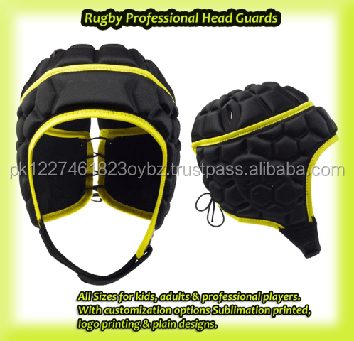 Professional High Quality Rugby Helmet Head Gear / Guard OEM service