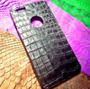 Crocodile Leather Python Snake Skin Mobile Case