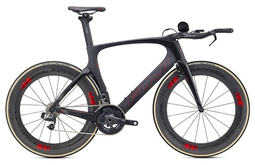 Carbon bicycle Fuji Norcom Straight 1.1 Carbon Road Bike Satin Carbon 2017