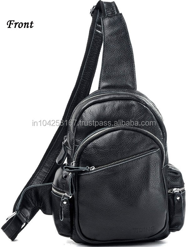 backpack leather men, leather backpack women, pu leather backpack made in india