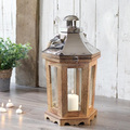Wood Table Top Chinese Hanging Lantern