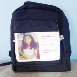 Customized kids photo printed School Bags