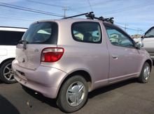 GOOD CONDITION RIGHT HAND DRIVE USED CARS FOR TOYOTA VITZ F 2000 GH-SCP10 AT (ENGINE TYPE: 1SZ)