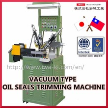Easy to use oil seal making machine vacuum type oil seals trimming machine for industrial use , completely designing internally