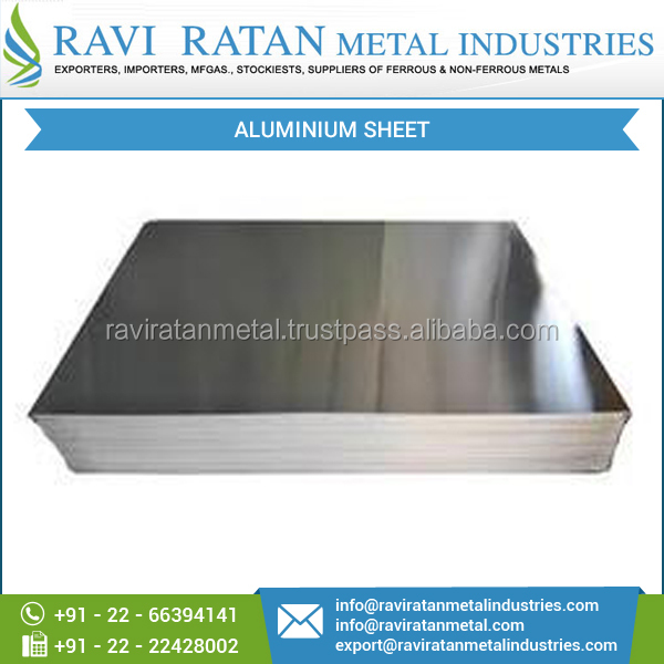 Scratch Resistant Durable Standard Aluminium Sheet from Reputed Seller