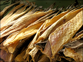 Dried Cod or Torsk Fish, Haddock or Hyse Saithe or Sey Ling or Lange for sale