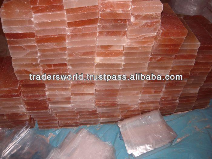 Mattoni di sale e piastrelle per sale di casa/sale sauna/grotta di sale/sale centro benessere ...