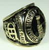 CUSTOMIZED ONYX STONE WITH TROPHY EMBLEM ON TOP 1959 HOCKEY WORLD CHAMPIONSHIP RING