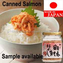 Japanese and High quality canned fish salmon , free samples fish