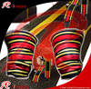 Super Heavy wrist & Knee wraps Red with yellow color / Custom brand logo preferred wrist wraps / Latest article Wrist wraps
