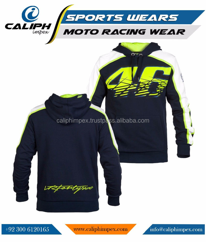 Motorcycle Men's Cotton Racing Hoodies Casual Clothes Sweatshirt