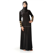 2017 New design fashion custom dubai abaya wholesale fashion muslim abaya