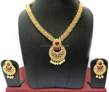 New Fashionable Women Wear Imitation Jewelry Necklace Set - NNS2g698