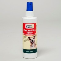 FLEA AND TICK SPRAY ROYAL PET 8 OZ #406