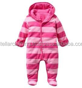 Infant Romper With Hood