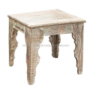 Reclaimed Wood Coffee Table Distressed Coffee Table White