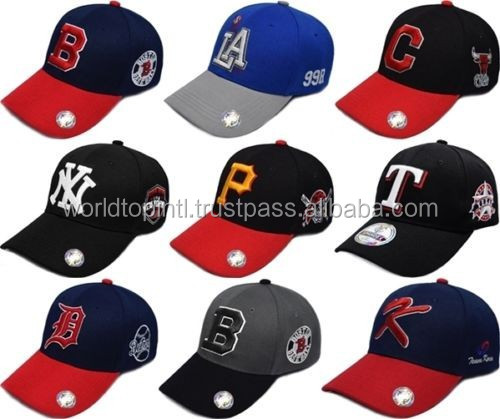 P Cap With Embroidery Logo on Front, Sports Caps With Custom Logo, Snap Back P Caps Cheap Price Fitted Caps/Beanies
