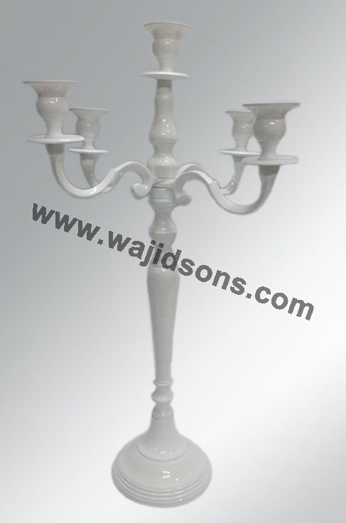 cheap white candelabras for decoration