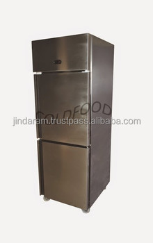 two door vertical chiller small 550 Ltr