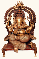 Big Ganesh Statue for Temple Worship and home, office decoration