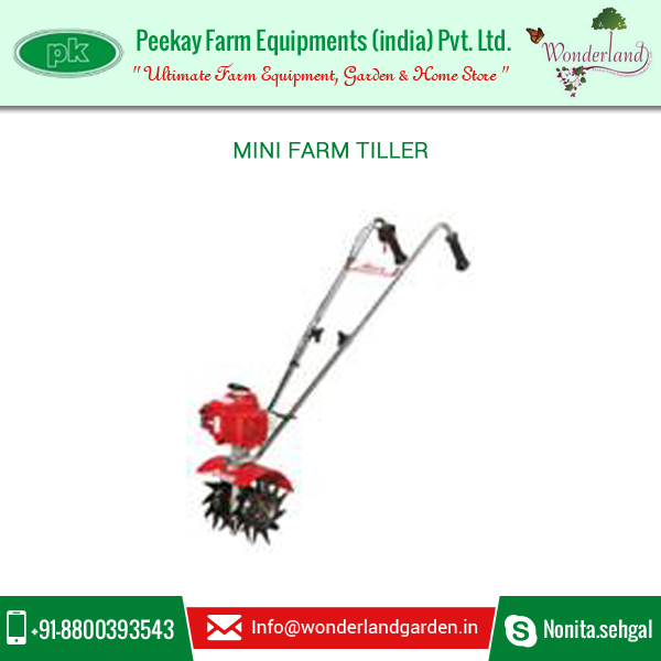Durable and Compact Design Mini tiller for Quick and Easy Use at Best Selling Price