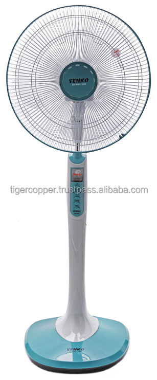 SENKO ELECTRIC STAND FAN DC880 (3 SPEEDS/ELECTRIC MOTOR OSCILLATION)