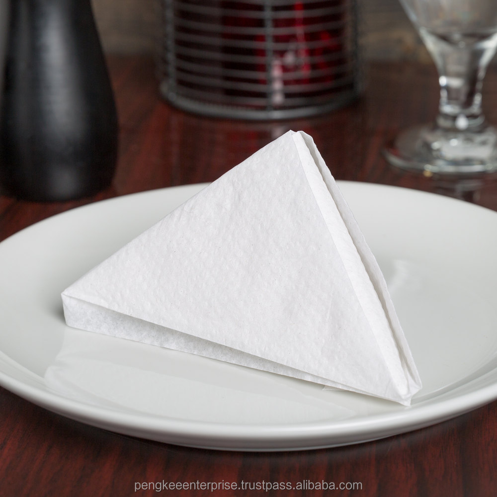 PEARLY LUNCHEON NAPKIN (1 PLY / 2 PLY) (PLAIN / BROWN / CUSTOM PRINTED)